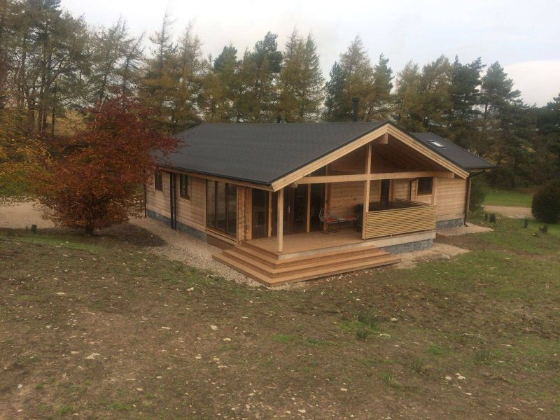 Newly completed Swaledale Luxury Log Cabin, spacious, stylish and high quality self catering accommodation