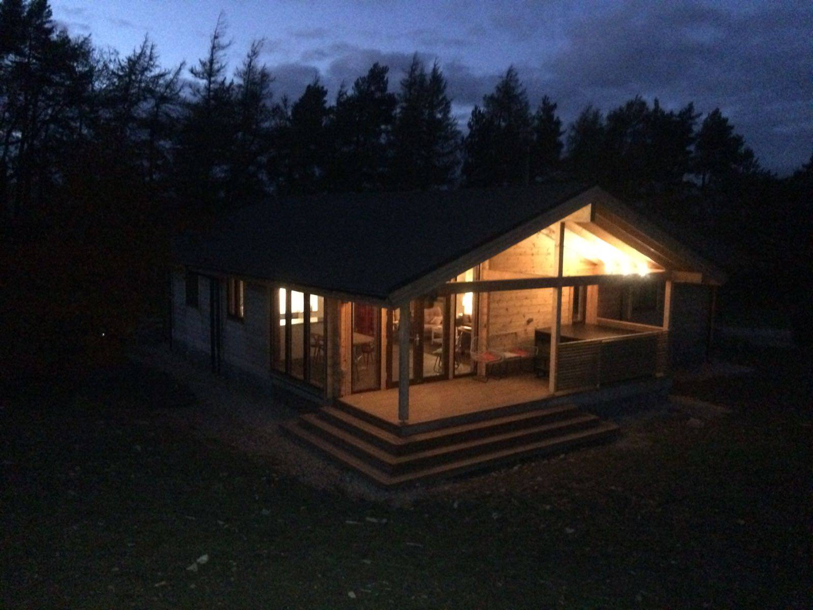 Superior Luxury Hot Tub Log Cabins exceptional mountain views, in the Lake District and Yorkshire Dales National Park