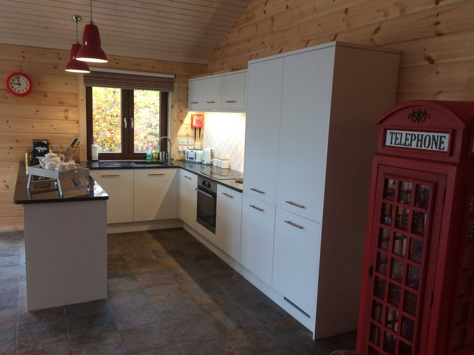 Swaledale open plan kitchen