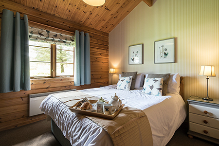 Relax in Mallard lodge - King Size Bed