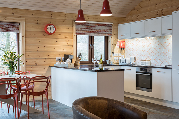 Luxurious Swaledale Lodge Open Lodge Living